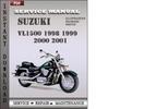 Thumbnail Suzuki VL1500 1998 1999 2000 2001 Factory Service Repair Manual Download
