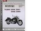 Thumbnail Suzuki VL800 2006 2007 2008 2009 Factory Service Repair Manual Download