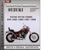 Thumbnail Suzuki VS700 VS750 VS800 S50 1985 1986 1987 1988 Factory Service Repair Manual Download