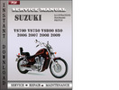Thumbnail Suzuki VS700 VS750 VS800 S50 2006 2007 2008 2009 Factory Service Repair Manual Download