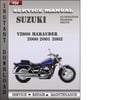 Thumbnail Suzuki VZ800 Marauder 2000 2001 2002 Factory Service Repair Manual Download