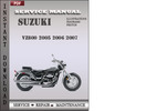Thumbnail Suzuki VZ800 2005 2006 2007 Factory Service Repair Manual Download