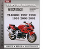 Thumbnail Suzuki TL1000S 1997 1998 1999 2000 2001 Factory Service Repair Manual Download