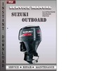 Thumbnail Suzuki Outboard Df90, Df100, Df115, Df140 2000 2001 2002 Factory Service Repair Manual Download