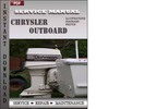 Thumbnail Chrysler Outboard 35 45 50 55 Hp 1966-1968 Factory Service Repair Manual Download