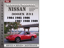 Thumbnail Nissan 300ZX Z31 1984 1985 1986 1987 1988 1989 Factory Service Repair Manual Download