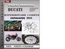 Thumbnail Ducati Hypermotard 1100EVO 2010 Parts Manual Catalog PDF Download