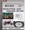 Thumbnail Ducati Monster 400 2001 2002 Parts Manual Catalog PDF Download