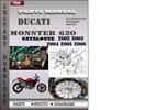 Thumbnail Ducati Monster 620 2002 2003 2004 2005 2006 Parts Manual Catalog PDF Download