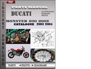 Thumbnail Ducati Monster 800 800s parts manual 2003 2004 Parts Manual