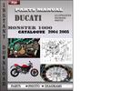 Thumbnail Ducati Monster 1000 2004 2005 Parts Manual Catalog PDF Download