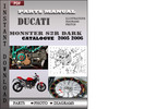 Thumbnail Ducati Monster S2R DARK 2005 2006 Parts Manual Catalog PDF Download