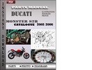 Thumbnail Ducati Monster S2R 2005 2006 Parts Manual Catalog PDF Download