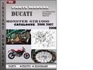 Thumbnail Ducati Monster S2R1000 2006 2007 2008 Parts Manual Catalog PDF Download