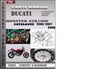 Thumbnail Ducati Monster S2R1000 2006 2007 2008 Parts Manual Catalog PDF Download