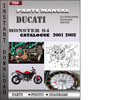 Thumbnail Ducati Monster S4 2001 2002 Parts Manual Catalog PDF Download