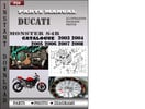 Thumbnail Ducati Monster S4R 2003 2004 2005 2006 2007 2008 Parts Manual Catalog PDF Download