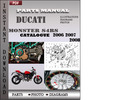Thumbnail Ducati Monster S4RS 2006 2007 2008 Parts Manual Catalog PDF Download