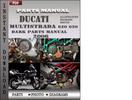 Thumbnail Ducati Multistrada 620 620 Dark 2006 Parts Manual Catalog PDF Download