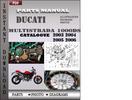 Thumbnail Ducati Multistrada 1000 DS 2003 2004 2005 2006 Parts Manual Catalog PDF Download