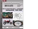 Thumbnail Ducati Multistrada 1000 SDS 2005 2006 Parts Manual Catalog PDF Download