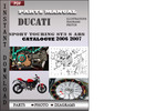 Thumbnail Ducati Sport touring ST3 S ABS 2006 2007 Parts Manual Catalog PDF Download