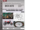 Thumbnail Ducati Sport touring ST4 S ABS 2003 2004 2005 Parts Manual Catalog PDF Download