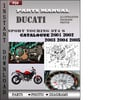 Thumbnail Ducati Sport touring ST4 S 2001 2002 2003 2004 2005 Parts Manual Catalog PDF Download