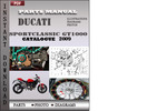 Thumbnail Ducati Sportclassic GT1000 Touring 2009 Parts Manual Catalog PDF Download