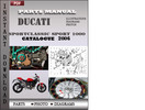 Thumbnail Ducati Sportclassic Sport 1000 2006 Parts Manual Catalog PDF Download