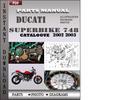 Thumbnail Ducati Superbike 748 2002 2003 Parts Manual Catalog PDF Download