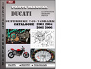 Thumbnail Ducati Superbike 749-749 DARK 2003 2004 2005 2006 Parts Manual Catalog PDF Download