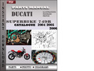Thumbnail Ducati Superbike 749R 2004 2005 2006 Parts Manual Catalog PDF Download