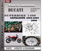 Thumbnail Ducati Superbike 749S 2004 2005 2006 Parts Manual Catalog PDF Download