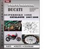 Thumbnail Ducati Superbike 1098 2007 2008 Parts Manual Catalog PDF Download