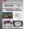 Thumbnail Ducati Superbike 1198S 2009 2010 Parts Manual Catalog PDF Download