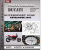 Thumbnail Ducati Supersport 620S 2003 Parts Manual Catalog PDF Download