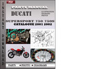 Thumbnail Ducati Supersport 750 750S 2001 2002 Parts Manual Catalog PDF Download