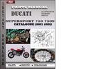 Thumbnail Ducati Supersport 750 750S 2001 2002 Parts Manual Catalog PDF Download