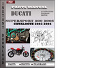 Thumbnail Ducati Supersport 800 800S 2003 2004 Parts Manual Catalog PDF Download