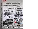 Thumbnail Grand Cherokee 2005 Parts Manual Catalog PDF Download