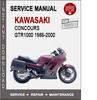 Thumbnail Kawasaki Concours GTR1000 1986-2000 Service Repair Manual