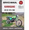 Thumbnail Kawasaki KE125 1974-1980 Service Repair Manual PDF