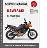 Thumbnail Kawasaki KLE500 2005 Service Repair Manual PDF