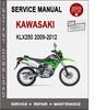 Thumbnail Kawasaki KLX250 D-TRACKER X 2009-2012 Service Repair Manual