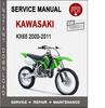 Thumbnail Kawasaki KX65 2000-2011 Service Repair Manual PDF