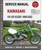 Thumbnail Kawasaki KX125 KX250 1999-2002 Service Repair Manual PDF