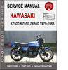 Thumbnail Kawasaki KZ500 KZ550 ZX550 1979-1985 Service Repair Manual P