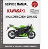 Thumbnail Kawasaki Ninja ZX6R (ZX600) 2009-2012 Service Repair Manual