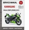 Thumbnail Kawasaki Ninja ZX6R (ZX636) 2013 Service Repair Manual PDF